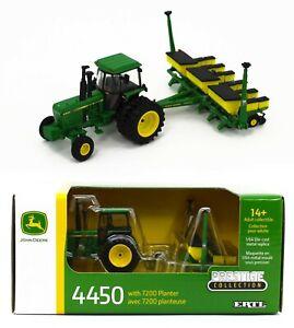 NEW 2021 ERTL 1:64 JOHN DEERE 4450 w/6-ROW 7200 Planter *PRESTIGE COL* NIB!