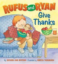 Rufus and Ryan Give Thanks 3 available board book *ships only to U.S address