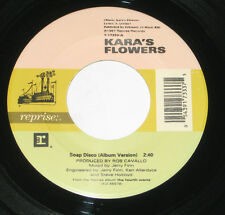 "Kara's Flowers 7"" 45 HEAR Soap Disco 1997 FOURTH WORLD Captain Splendid"
