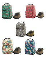 Eco Chic Waterproof Foldable Boot Bag, Walking, Hiking, Welly, Shoe Bag