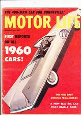 September Motor Cars, 1960s Transportation Magazines