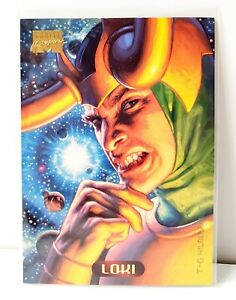 1994 Fleer Marvel Masterpieces #86 Loki Trading Card