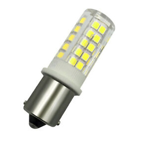1x BA15S 1156 LED Lights Car/Boat/Solar/Sailboat 12V Light Bulb 64-2835 Lamp