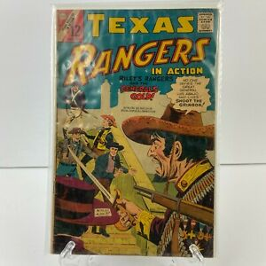 Texas Rangers In Action CDC Vol 1 #62 Sep 1967 Vintage Comic Book