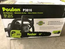 BRAND NEW Poulan PL3816 16 In. 38 CC Gas Chainsaw with carrying case
