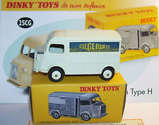 DINKY TOYS ATLAS CITROEN TYPE H HY TUB GERVAIS REF 25CG 1/43 BOX no certificat