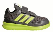 Kids's adidas Performance Altarun CF I Low Rise Trainers in Grey UK 8.5 Infant / EU 26