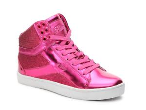 Pastry Pop Tart Glitter Fuschia Dance Sneaker