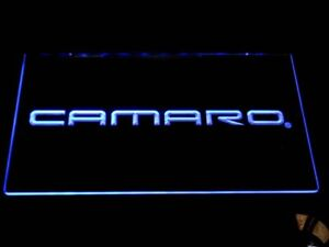 Chevrolet Camaro LED Sign 12*8 Inch