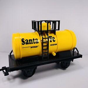Scientific Toys Service Railway Santa Fe Rio Grande Yellow Tanker   Replacements