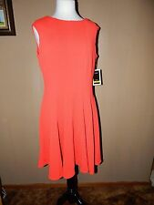 NWT Julian Taylor Fit and Flare Dress Size 14