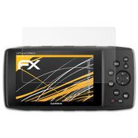 atFoliX 3x Film Protection d'écran pour Garmin GPSMap 276Cx mat&antichoc