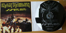 "EX/EX IRON MAIDEN FROM HERE TO ETERNITY 7"" ETCHED VINYL LIMITED EDITION"