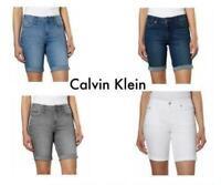 *NEW* Calvin Klein Jeans Ladies' Denim Bermuda Short VARIETY: COLOR/SIZE