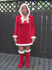 NOEL MRS. CLAUS CHRISTMAS ADULT WOMENS HALLOWEEN COSTUME SEXY RISQUE MED 10-12