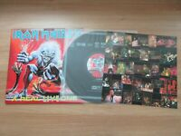 Iron Maiden - A Real Live One 1993 Korea Orig LP 4 Pages Insert RARE