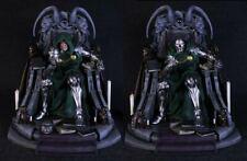 Doctor Dr Doom Throne Statue Sculpture Art / Nt XM Sideshow Prime 1 Marvel RARE