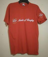 Fullers London Pride fatta di Coppa del Mondo di Rugby 2015 T Shirt Rossa Taglia S Small in buonissima condizione