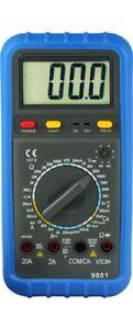 DESTOCKAGE -50 % !! Multimètre Numérique HOLDPEAK HP-9801 AC/DC 750-V20A