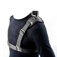 Single Shoulder Strap Mount Chest Harness Belt Adapter for GoPro Hero 1 2 3 3+ 4