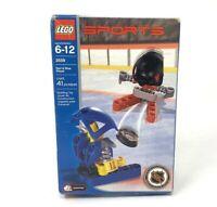 Lego 3559 Sports Hockey Red & Blue Player NHL Slammer Set 2003