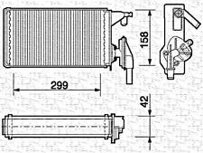 Wärmetauscher Heizungskühler für AUDI 8K BMW NISSAN OPEL TOYOTA 1.7-4.0L 1985-