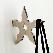 Star Ninja Hook Throwing Death Coat Rack Wall Hanger Stocking Filler Gift 1pc