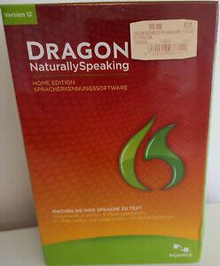 Dragon Naturally Speaking Version 12 - inkl. Headset - Deutsch - NEUWARE