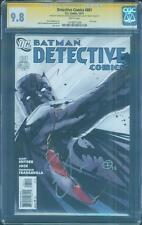 Batman Detective Comics 881 CGC 2X SS 9.8 Snyder Francavilla Top 1 Last Issue