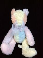 """First & Main Pastel Precious Plush Teddy Bear 9"""" Soft Toy Stuffed 2344"""