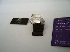 Lapponia Echte Edelmetall-Ringe ohne Steine aus Sterlingsilber für Damen