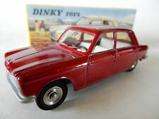 FRENCH DINKY ATLAS. 510. PEUGEOT 204 IN MT RED. MIB