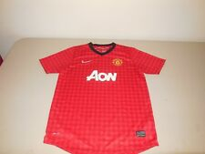Nike Manchester United Soccer Jersey Shirt Team Red Training World Cup Youth XL