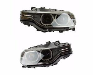 For BMW F30 Set of Left & Right Headlight Assembly Bi-Xenon Adaptive OEM