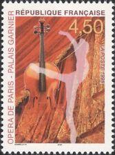 France 1998 Paris Opera House/Performing Arts/Ballet Dancer/Violin 1v (n46215)