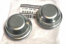 Datsun Front Hub Dust Caps, 240Z 280Z 280ZX, 1970-1983 OEM NEW!