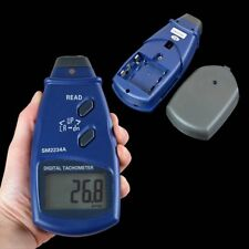 Digital Laser Photo Tachometer Non Contact RPM for Milling Motor Device SM2234A