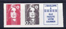 es - FRANCE n°2824b sans valeur tenant à 0,70 + vignette