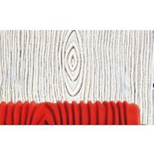 "7"" Wood Grain Pattern Paint Roller Sleeve Stencil Brush DIY Tool Wall Decorating"