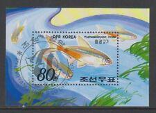 Korea - 1991, Fish sheet - F/U - SG MSN3093