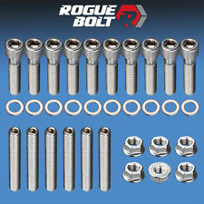 BBF INTAKE MANIFOLD STUD / BOLT KIT STAINLESS STEEL BOLTS BIG BLOCK FORD 429 460