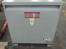 RECONDITIONED 75 KVA 480 PRIMARY 208Y/120 SECONDARY GENERAL ELECTRIC TRANSFORMER