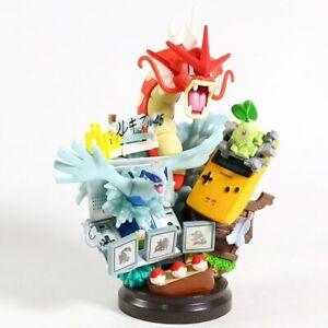 Limited Edition Rare Pokemon Collectible Statue/Figure Lugia Gyarados Chikorita