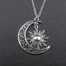 Sun and Moon Necklace Celestial Jewelry Sun Jewelry Moon Jewelry Star necklace