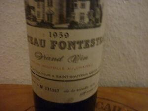 59er Chateau Fontesteau Grand Vin  Haut Medoc Fl. N. 31367