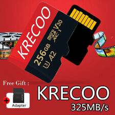 KRECOO Ultra 64GB 128GB 256GB Micro SD C10 SDHC SDXC 325MBs Flash Memory TF Card