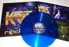 ROCKETS - KAOS - LP VINILE 33 GIRI - COLORATO BLUE 250 COPIE NUMERATO SU STICKER