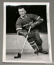 Original Mid-50's Benny Woit Mtl Canadiens Photo