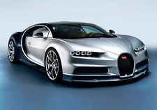 Bugatti Chiron Glossy A4 260gsm Poster Print