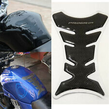 Carbon Fiber Motorcycle Gel Oil Gas Fuel Tank Pad Protector 3D Decal Sticker TR